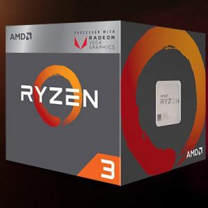 AMD Ryzen 3 2200G (Up to 3.7Ghz/ 6Mb cache) Ryze