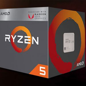 AMD Ryzen 5 2400G (Up to 3.9Ghz/ 6Mb cache) Ryzen