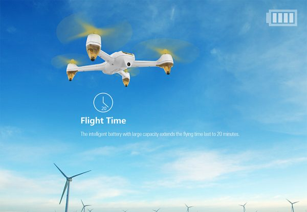 Flycam cao cấp Hubsan H501S