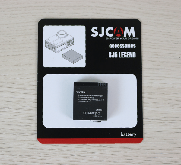 Pin SJCAM SJ6 Legend