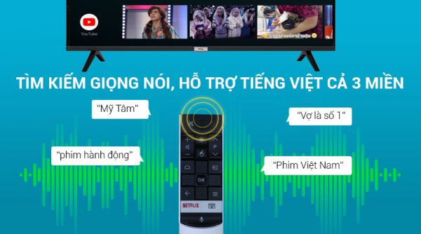 Android Tivi TCL 43 inch L43S6500