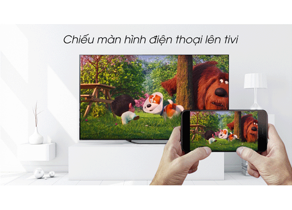 Androi Tivi Oled Sony 4K 55 Inch KD-55A8G VN3